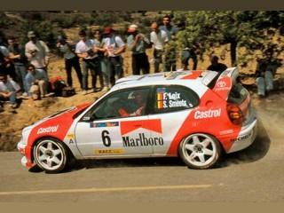 Toyota Corolla WRC Castrol Real