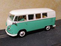 Volkswagen Transporter Camper Van Green Beige Slot